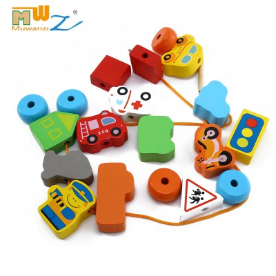 Muwanzi Wooden Beaded Building Blocks