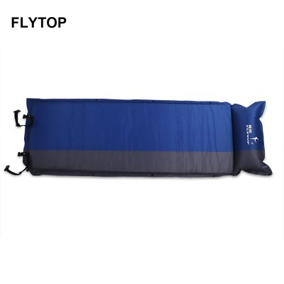FLYTOP Outdoor Camping Inflatable Mat Picnic Sleeping Pad