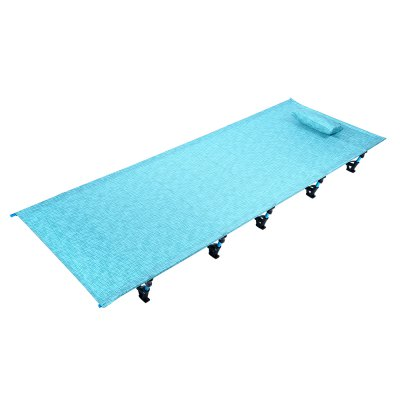 Outdoor Camping Aluminum Alloy Sleeping Mat Single Bed