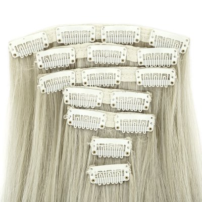 AISI HAIR Straight Long Hair Extensions for WomenHair Extensions<br>AISI HAIR Straight Long Hair Extensions for Women<br><br>Advantage: Very Soft and Fashionable<br>Gender: Female<br>Hair Density: 120 Heavy Density<br>Lace Wigs Type: None Lace Wigs<br>Length: Long<br>Length Size(CM): 55<br>Length Size(Inch): 21.65<br>Material: Human Hair<br>Package Contents: 1 x Hair Extensions<br>Package size (L x W x H): 55.50 x 5.50 x 5.50 cm / 21.85 x 2.17 x 2.17 inches<br>Package weight: 0.1900 kg<br>Product size (L x W x H): 55.00 x 5.00 x 5.00 cm / 21.65 x 1.97 x 1.97 inches<br>Product weight: 0.1600 kg<br>Style: Straight<br>Type: Half Wigs