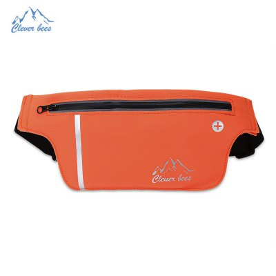 CLEVERBEES Unisex Running Waist Bag Close Fitting Pouch