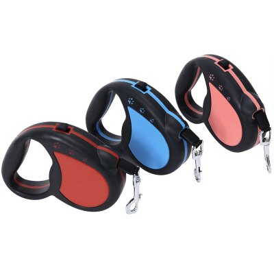 XuanCheng 3m Retractable Pet Training Lead LeashDog Collars &amp; Leads<br>XuanCheng 3m Retractable Pet Training Lead Leash<br><br>Applicable Dog Breed: Medium-sized Dog, Small Dog<br>Color: Blue,Pink,Red<br>Package Contents: 1 x Retractable Pet Lead Leash<br>Package Size(L x W x H): 17.00 x 17.00 x 4.50 cm / 6.69 x 6.69 x 1.77 inches<br>Package weight: 0.1800 kg<br>Product Size(L x W x H): 12.00 x 10.00 x 3.00 cm / 4.72 x 3.94 x 1.18 inches<br>Product weight: 0.1270 kg