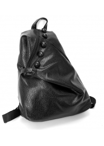 Stylish Leisure Solid Color Women Backpack