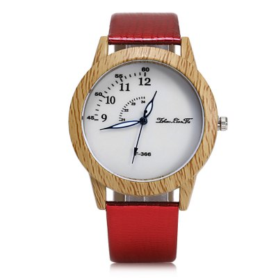 ZhouLianFa F - 366 Female Quartz WatchWomens Watches<br>ZhouLianFa F - 366 Female Quartz Watch<br><br>Band Length: 7.29 inch<br>Band Material Type: Leather<br>Band Width: 20mm<br>Case material: Plastic<br>Case Shape: Round<br>Clasp type: Pin Buckle<br>Dial Diameter: 1.65 inch<br>Dial Display: Analog<br>Dial Window Material Type: Glass<br>Gender: Women<br>Movement: Quartz<br>Package Contents: 1 x Watch<br>Package Size(L x W x H): 26.00 x 6.00 x 2.00 cm / 10.24 x 2.36 x 0.79 inches<br>Package weight: 0.0570 kg<br>Product Size(L x W x H): 23.00 x 4.50 x 1.00 cm / 9.06 x 1.77 x 0.39 inches<br>Product weight: 0.0350 kg<br>Style: Fashion &amp; Casual