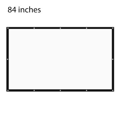 84 inch Projector Screen 16:9