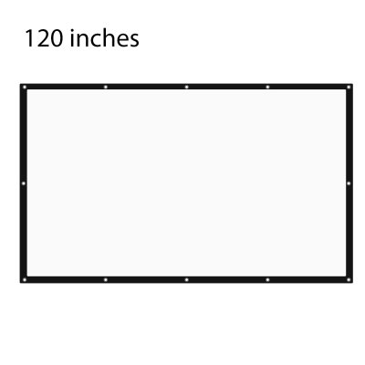 120 inch Folding Table-top Projection Scree