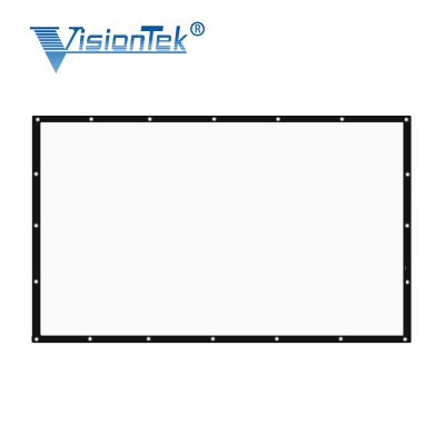 visiontek 120 inch Projector Screen Foldable Curtain 16:9