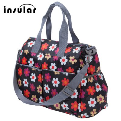 Insular High-capacity Fashion Babies Nappy Cloths Shoes Bag