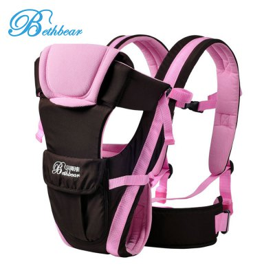 Bethbear Ventilate Adjustable Buckle Mesh Wrap Baby Carrier Backpack