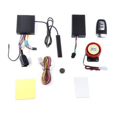 NTG02P Keyless Entry Two Way LCD Motorcycle Alarm System