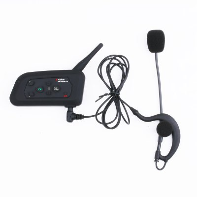 V4C 600M Full-duplex Bicycle Bluetooth Interphone with FM
