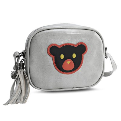 Stylish Cartoon Bear Shoulder BagWomens Bags<br>Stylish Cartoon Bear Shoulder Bag<br><br>Closure Type: Zipper<br>Gender: For Women<br>Handbag Type: Shoulder bag<br>Main Material: PU<br>Occasion: Versatile<br>Package Contents: 1 x Bag<br>Package size (L x W x H): 18.00 x 8.00 x 16.00 cm / 7.09 x 3.15 x 6.3 inches<br>Package weight: 0.2540 kg<br>Pattern Type: Animal Prints<br>Product size (L x W x H): 17.00 x 7.00 x 15.00 cm / 6.69 x 2.76 x 5.91 inches<br>Product weight: 0.2340 kg<br>Style: Fashion<br>Weight: 0.4610kg
