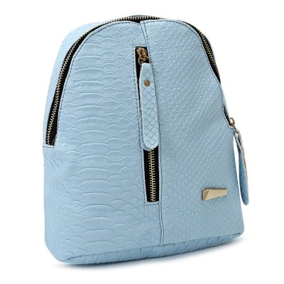 Women Leisure Vertical Zipper BackpackWomens Bags<br>Women Leisure Vertical Zipper Backpack<br><br>Color: Black,Blue,Pink,Purple<br>For: Camping, Climbing, Cycling, Hiking, Other, Traveling<br>Material: PU Leather<br>Package Contents: 1 x Bag<br>Package size (L x W x H): 27.00 x 26.50 x 2.00 cm / 10.63 x 10.43 x 0.79 inches<br>Package weight: 0.2530 kg<br>Product size (L x W x H): 22.00 x 11.50 x 24.00 cm / 8.66 x 4.53 x 9.45 inches<br>Product weight: 0.2330 kg<br>Type: Backpack