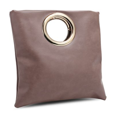 Fashion Simple Metal Ring Handbag for WomenWomens Bags<br>Fashion Simple Metal Ring Handbag for Women<br><br>Closure Type: No Zipper<br>Gender: For Women<br>Handbag Type: Shoulder bag<br>Main Material: PU<br>Occasion: Versatile<br>Package Contents: 1 x Bag<br>Package size (L x W x H): 30.00 x 30.00 x 2.00 cm / 11.81 x 11.81 x 0.79 inches<br>Package weight: 0.3400 kg<br>Pattern Type: Solid<br>Product size (L x W x H): 29.00 x 29.00 x 2.00 cm / 11.42 x 11.42 x 0.79 inches<br>Product weight: 0.3200 kg<br>Style: Fashion<br>Weight: 0.3600kg