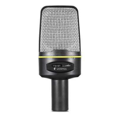 Yanmai Desktop Microphone Dynamic Condenser Sound MICMicrophone<br>Yanmai Desktop Microphone Dynamic Condenser Sound MIC<br><br>Cable Length (cm): Approx. 2 m / 6.6 ft<br>Connection: 3.5mm<br>Frequency Range: 50Hz - 16KHz<br>Occasion: Desktop<br>Package Contents: 1 x Desktop Microphone, 1 x Mini Tripod, 1 x Audio Cable<br>Package size (L x W x H): 27.00 x 10.00 x 7.00 cm / 10.63 x 3.94 x 2.76 inches<br>Package weight: 0.2800 kg<br>Polar Pattern: Omni-directional<br>Product size (L x W x H): 15.00 x 6.00 x 5.20 cm / 5.91 x 2.36 x 2.05 inches<br>Product weight: 0.0900 kg<br>Sensitivity Range: within -3dB at 1V<br>Type: Wired