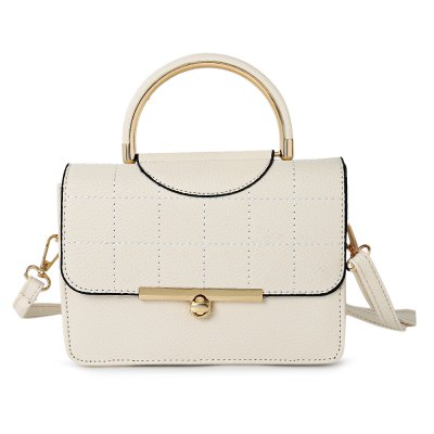 Stylish Leisure Solid Color Women Cross-body Bag