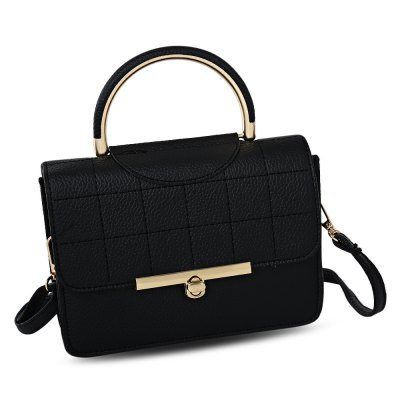 Stylish Leisure Solid Color Women Cross-body BagWomens Bags<br>Stylish Leisure Solid Color Women Cross-body Bag<br><br>Closure Type: Zipper &amp; Hasp<br>Gender: For Women<br>Handbag Type: Shoulder bag<br>Main Material: PU<br>Occasion: Versatile<br>Package Contents: 1 x Bag<br>Package size (L x W x H): 26.00 x 22.00 x 7.00 cm / 10.24 x 8.66 x 2.76 inches<br>Package weight: 0.3420 kg<br>Pattern Type: Solid<br>Product size (L x W x H): 22.00 x 6.50 x 16.00 cm / 8.66 x 2.56 x 6.3 inches<br>Product weight: 0.3100 kg<br>Style: Fashion<br>Weight: 0.8010kg