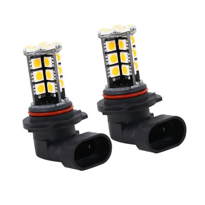 SCOE 2pcs 9006 30SMD DC 12V LED Fog Lamp