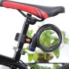 Robesbon Bicycle Anti-theft Ring Wire Rope Lock photo