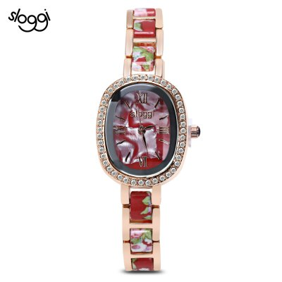 Sloggi 100 Women Ceramic Band Quartz Watch