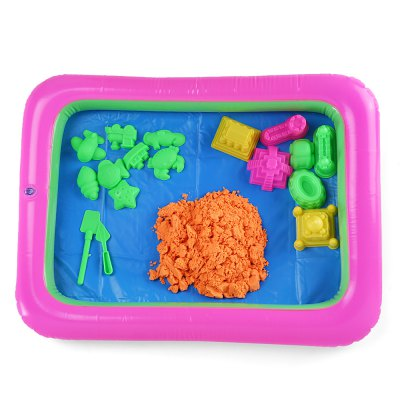Colorful Castle Mold Space Sand Toy