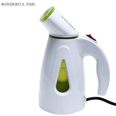 WONDERFUL TIME Handheld Fabric Steamer with Brush