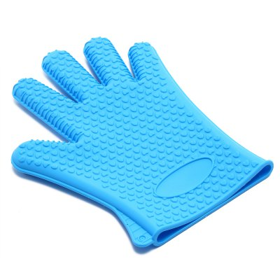 YIBO Oven Heat Resistant Silicone GlovesBBQ<br>YIBO Oven Heat Resistant Silicone Gloves<br><br>Material: Silicone<br>Package Contents: 1 x Silicone Gloves<br>Package Size(L x W x H): 27.50 x 23.50 x 2.00 cm / 10.83 x 9.25 x 0.79 inches<br>Package weight: 0.1410 kg<br>Product Size(L x W x H): 25.50 x 18.50 x 1.80 cm / 10.04 x 7.28 x 0.71 inches<br>Product weight: 0.1190 kg
