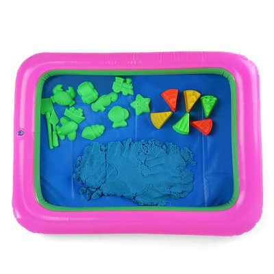 Colorful Cake Mold Space Sand Toy
