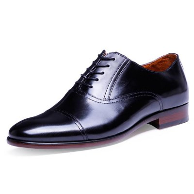 DESAI Genuine Leather Pointed Toe Male Business ShoesFormal Shoes<br>DESAI Genuine Leather Pointed Toe Male Business Shoes<br><br>Available Size: 38, 39, 40, 41, 42, 43<br>Closure Type: Lace-Up<br>Embellishment: None<br>Gender: For Men<br>Occasion: Casual<br>Outsole Material: Rubber<br>Package Contents: 1 x Pair of Men Leather Shoes<br>Pattern Type: Patchwork<br>Season: Spring/Fall<br>Toe Shape: Pointed Toe<br>Toe Style: Closed Toe<br>Upper Material: Leather<br>Weight: 1.4720kg