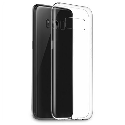 EasyAcc Soft TPU Transparent Case for Samsung Galaxy S8