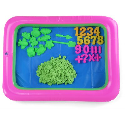 Colorful Number Mold Space Sand Toy