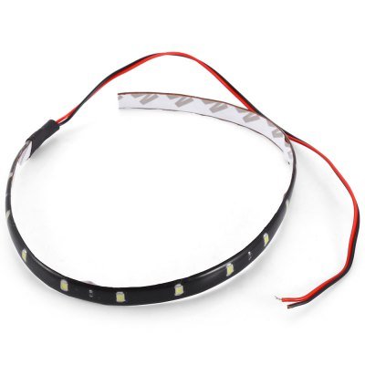 30CM 15 LEDs Car LightOthers Car Lights<br>30CM 15 LEDs Car Light<br><br>Emitting color: Blue,Green,Pink,Red,White<br>External Testing Certification: CCC<br>Led Chip Manufacturer: Epistar<br>Lens: Not Included<br>Light Source: LED<br>Package Contents: 1 x LED Car Light<br>Package Size(L x W x H): 18.00 x 14.00 x 2.00 cm / 7.09 x 5.51 x 0.79 inches<br>Package weight: 0.0380 kg<br>Product weight: 0.0080 kg<br>Voltage: 12V