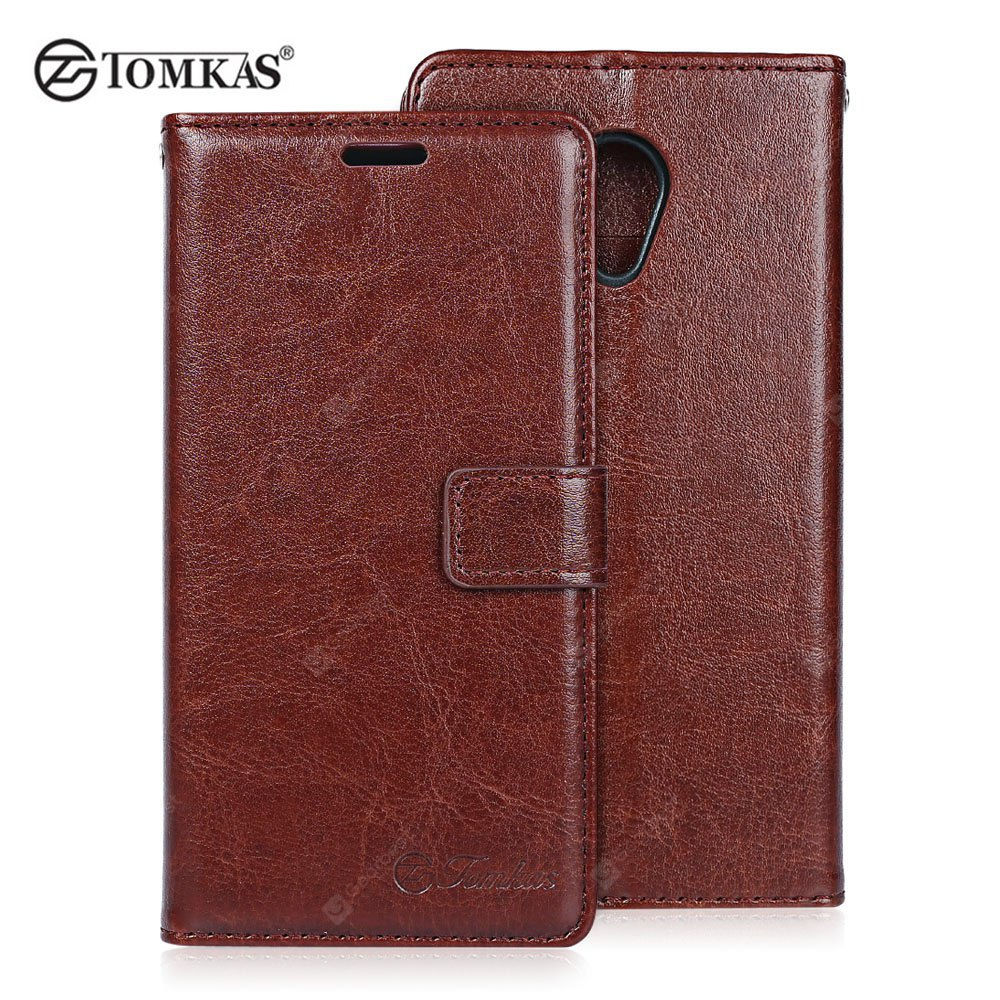 Tomkas Crazy Horse Series Wallet Full Body Case for Meizu 3S