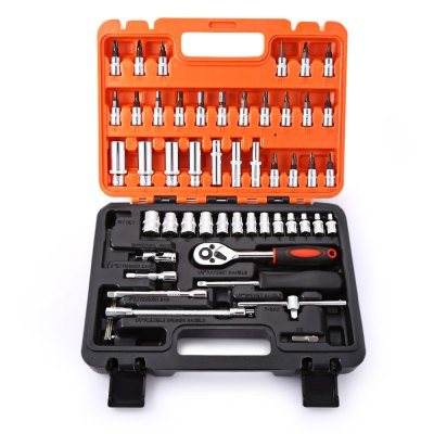 53pcs Automobile Motorcycle Professional Repair Tool Box SetOther Car Gadgets<br>53pcs Automobile Motorcycle Professional Repair Tool Box Set<br><br>Package Contents: 1 x 53pcs Automobile Motorcycle Repair Tool Box<br>Package Size(L x W x H): 27.50 x 20.50 x 6.00 cm / 10.83 x 8.07 x 2.36 inches<br>Package weight: 1.8250 kg<br>Product weight: 1.7150 kg