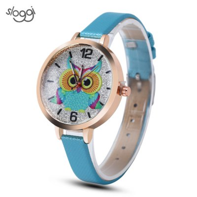Sloggi Women Sparkling Dial Watch