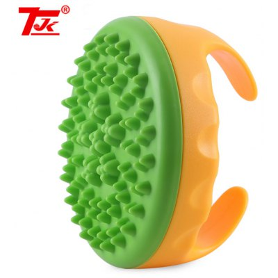 TJK Soft Cellulite Body Massager Oil Scorpion Meridian Brush
