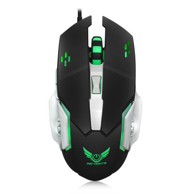 ZERODATE X500 Wired Gaming Mouse with LED LightMouse<br>ZERODATE X500 Wired Gaming Mouse with LED Light<br><br>Brand: ZERODATE<br>DPI: 1200,1600,2400,3200<br>Model Number: X500<br>Package Contents: 1 x Gaming Mouse, 1 x English User Manual, 1 x CD Driver<br>Package Size(L x W x H): 16.00 x 12.00 x 5.00 cm / 6.3 x 4.72 x 1.97 inches<br>Package weight: 0.2000 kg<br>Product Size(L x W x H): 12.80 x 7.70 x 4.00 cm / 5.04 x 3.03 x 1.57 inches<br>Product weight: 0.1630 kg<br>Type: Wired