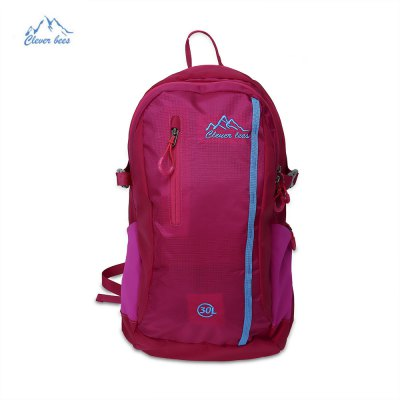 CLEVERBEES 30L Unisex Water Resistant Backpack