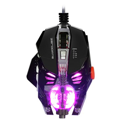 ZERODATE X600 Wired Gaming Mouse with LED Light