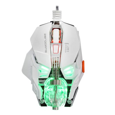 ZERODATE X600 Wired Gaming Mouse with LED LightMouse<br>ZERODATE X600 Wired Gaming Mouse with LED Light<br><br>Brand: ZERODATE<br>Model Number: X600<br>Package Contents: 1 x Gaming Mouse, 1 x CD Driver, 1 x Crystal Ball, 1 x Wrench, 1 x English User Manual<br>Package Size(L x W x H): 16.00 x 12.00 x 5.00 cm / 6.3 x 4.72 x 1.97 inches<br>Package weight: 0.2600 kg<br>Product Size(L x W x H): 11.60 x 8.80 x 2.70 cm / 4.57 x 3.46 x 1.06 inches<br>Product weight: 0.1640 kg<br>Type: Wired