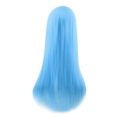 QIYI Charming Glossy Side Bang Long Straight Cosplay WigCosplay Wigs<br>QIYI Charming Glossy Side Bang Long Straight Cosplay Wig<br><br>Bang Type: Side<br>Length: Long<br>Length Size(CM): 80<br>Length Size(Inch): 31.50<br>Material: Synthetic Hair<br>Package Contents: 1 x Wig<br>Package size (L x W x H): 27.00 x 16.00 x 5.00 cm / 10.63 x 6.3 x 1.97 inches<br>Package weight: 0.3100 kg<br>Product size (L x W x H): 80.00 x 2.00 x 3.00 cm / 31.5 x 0.79 x 1.18 inches<br>Product weight: 0.2800 kg<br>Style: Straight<br>Type: Full Wigs