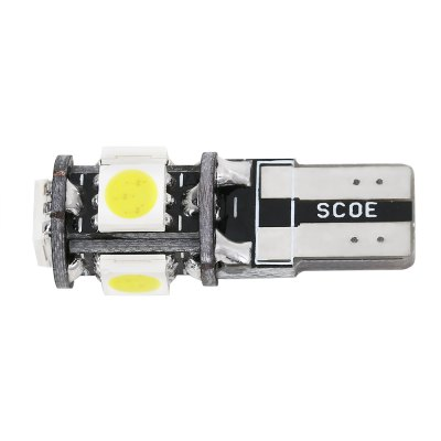 SCOE T10 5B 5SMD LED Energy-saving Reading LampOthers Car Lights<br>SCOE T10 5B 5SMD LED Energy-saving Reading Lamp<br><br>Lens: Not Included<br>Light Source: LED<br>Package Contents: 1 x LED Light<br>Package Size(L x W x H): 11.00 x 7.00 x 1.50 cm / 4.33 x 2.76 x 0.59 inches<br>Package weight: 0.0100 kg<br>Product Size(L x W x H): 2.80 x 1.00 x 1.00 cm / 1.1 x 0.39 x 0.39 inches<br>Product weight: 0.0030 kg