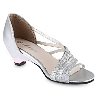 Ladies Low Heel SandalsWomens Sandals<br>Ladies Low Heel Sandals<br><br>Available Color: Purple, Silver, Golden<br>Available Size: 35, 36, 37, 38, 39<br>Closure Type: Slip-On<br>Gender: For Women<br>Heel Height: 4 cm / 1.57 inch<br>Heel Type: Low Heel<br>Occasion: Party<br>Outsole Material: Rubber<br>Package Content: 1 x Pair of Women Low Heel Sandals<br>Pattern Type: Others<br>Sandals Style: Slides<br>Shoe Width: Medium(B/M)<br>Style: Leisure<br>Upper Material: Sequined Cloth<br>Weight: 0.4610kg