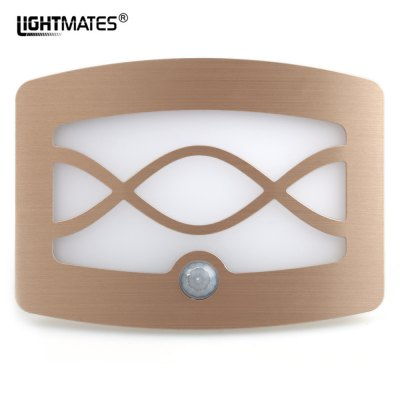 Langmeike WS01 LED Bedroom Decorate Induction Wall Lamp