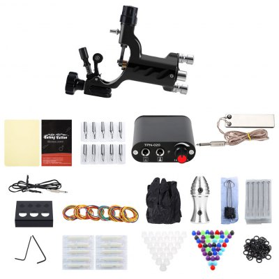 Solong Complete Tattoo Kit 1 Rotary Equipment Machine Gun