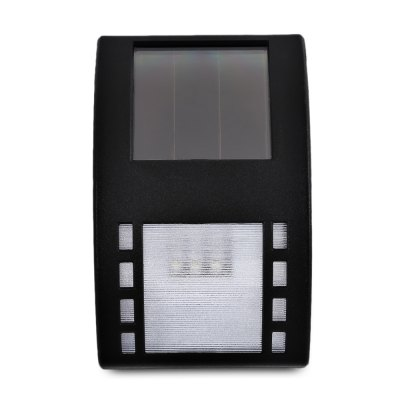 LED Solar Powered Waterproof Optical Control Wall Lamp