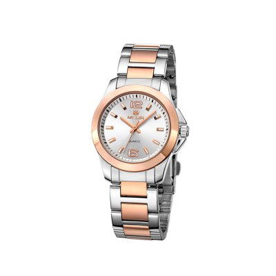 MEGIR 5006L Stainless Steel Band Women Quartz Watch