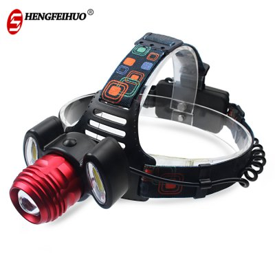 Shengfeihuo LED Outdoor Lighting Zoom Hunting Searchlight