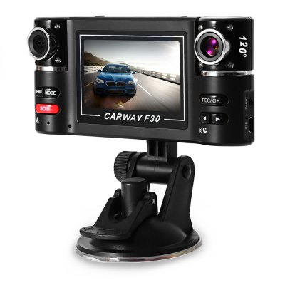 F30 Dual Lens Car Driving Recorder