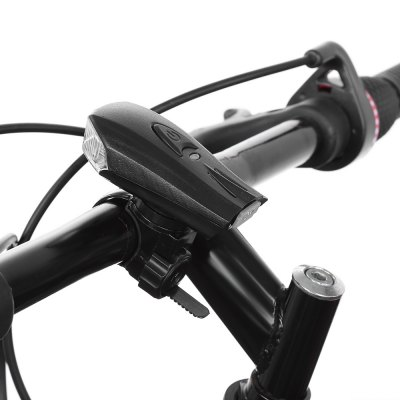 Bicycle USB Charging Smart Shock Sensor Front Lamp